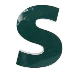 "Lower Case ""S"" Channel Letter"