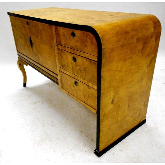 Danish Art Deco Vanity Cabinet - Image 4 of 8