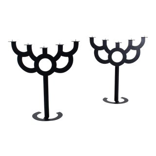 Pair of Floor Candelabras by Roderick Vos for Moooi