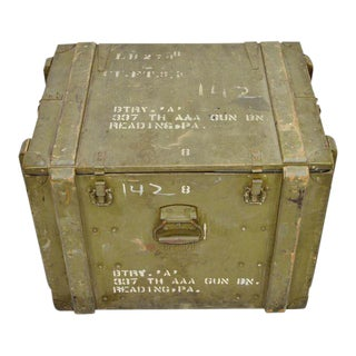 United States Army AAA Gun Site Equipment Crate