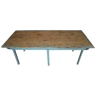 Vintage Child's Schoolhouse Wooden Table