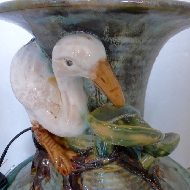 Jar Shape Fountain with Ducks - Image 8 of 10