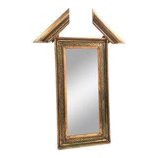 Neoclassical Greek Gold Leaf Mirror