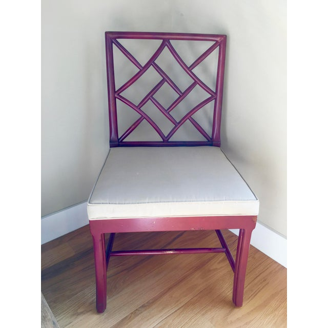 Hickory Chair Fretwork James River Side Chairs - A Pair - Image 2 of 10