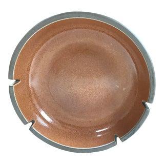 Mid-Century Edith Heath Ceramic Ashtray