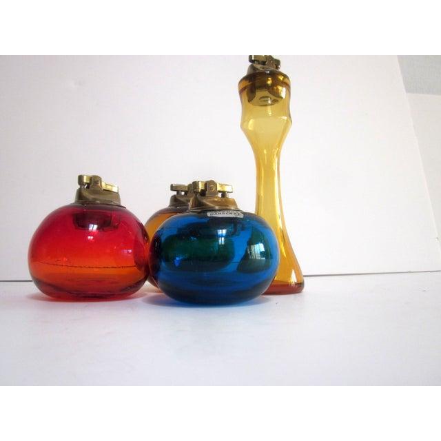Blenko Glass Lighters - Set of 4 - Image 3 of 8