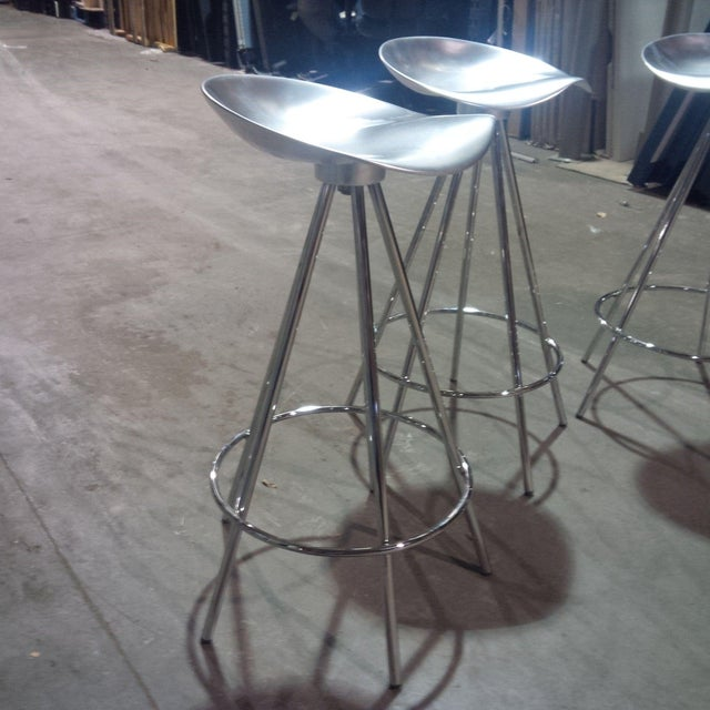 Knoll Jamaica Counter Stools by Pepe Cortes - Set of 4 - Image 4 of 6