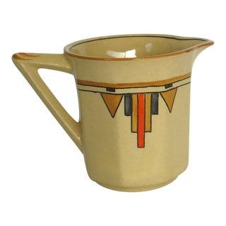Art Deco Pottery Creamer