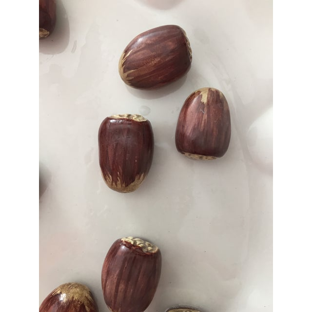 Tiffany Chestnuts Trompe L'Oeil Plate - Image 4 of 8