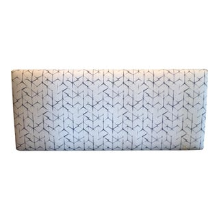 Queen Size Shibori Upholstered Headboard