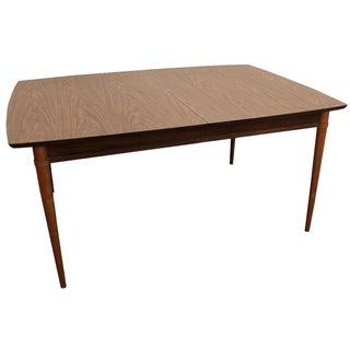 Mid-Century Modern Elongated Surfboard Dining Table