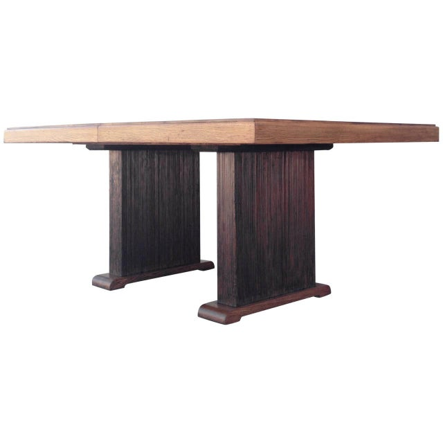 Paul Frankl Dining Table with Original Finish - Image 1 of 7