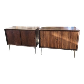Danish Petite Rosewood Cabinets - A Pair