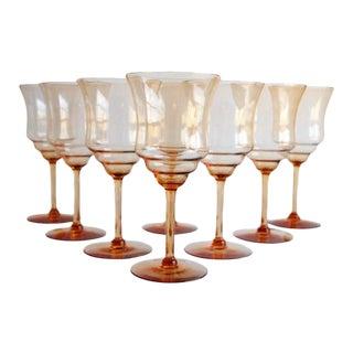 Vintage Cocktail Glasses, Set of 8