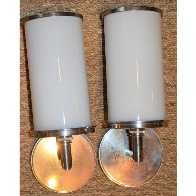 Visual Comfort Studio Cylinder Sconces - a Pair - Image 2 of 10