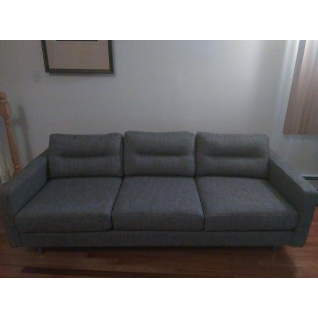 Gus Modern Sterling Gravel Logan Sofa - Image 2 of 5