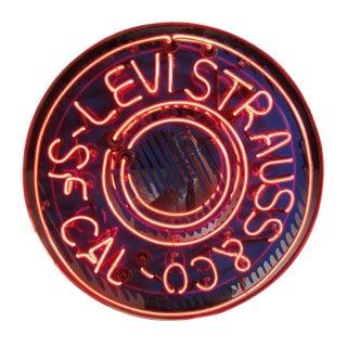 Levi Strauss & Co. Neon Sign