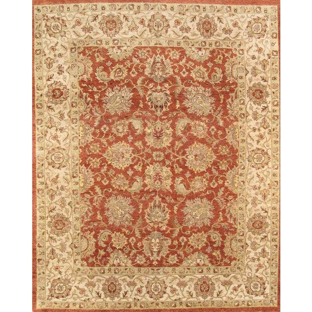 Pasargad Agra Oriental Wool Area Rug - 8'x10' - Image 1 of 1