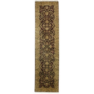 """RugsinDallas Persian Style Hand-Knotted Runner - 2'8"""" X 12'2"""""""