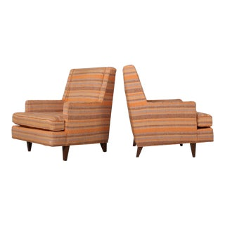 "Pair of ""Mr."" Lounge Chairs by Edward Wormley for Dunbar"