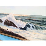 """Image of """"The Breakers"""" Oil Painting"""