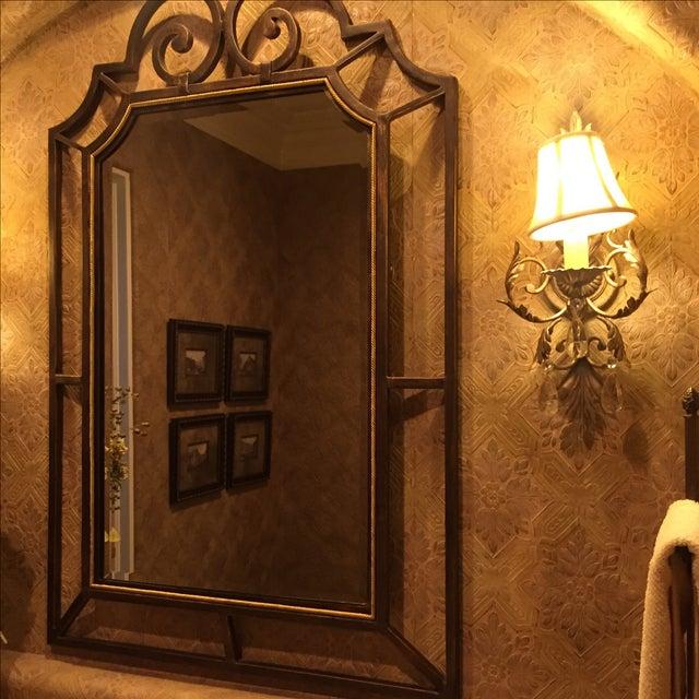 Theodore Alexander Beveled Mirror - Image 6 of 6