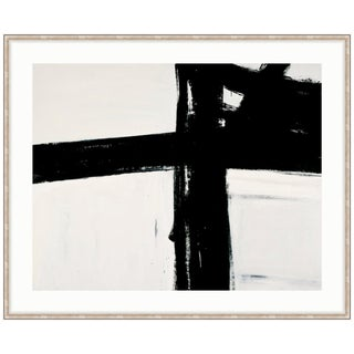 Franz Kline Untitled Black & White Abstract Framed Art Print