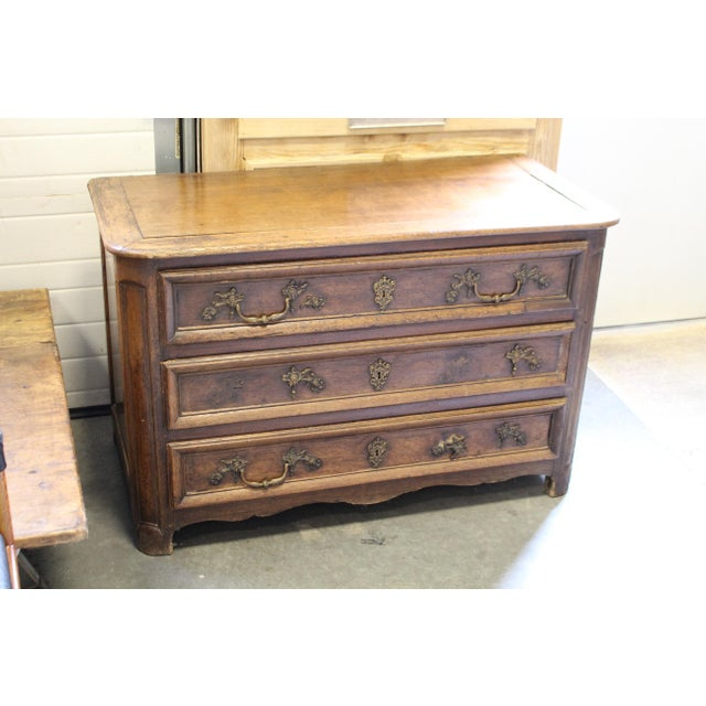French Oak Louis XV Style Commode - Image 2 of 8