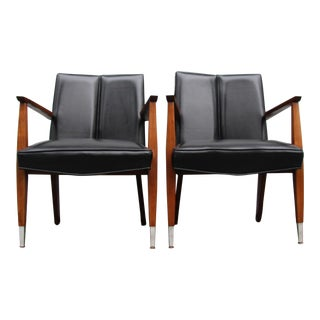 Murphy Miller Mid Century Modern Lounge Chairs - a Pair