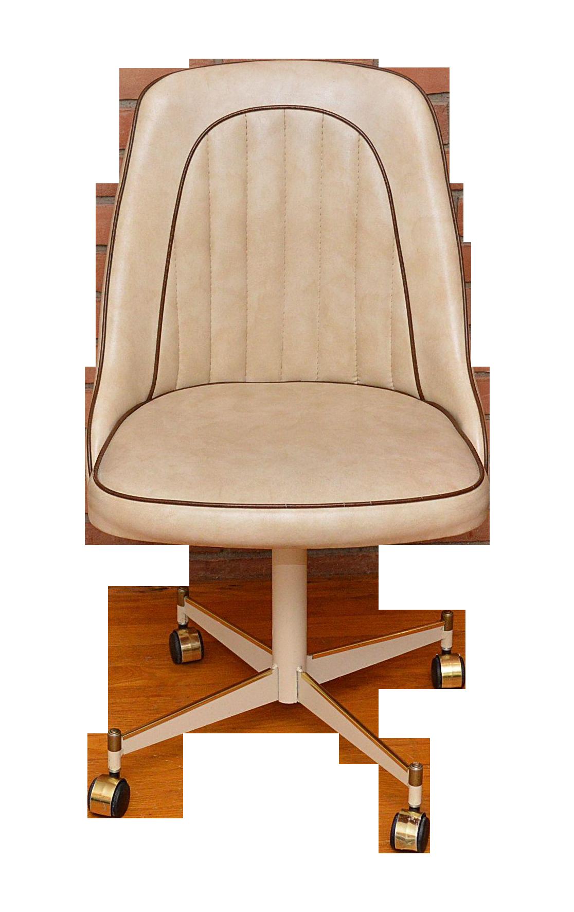 Vintage Stoneville Rolling Desk Chair