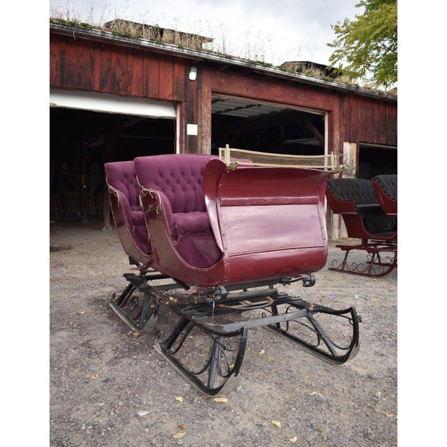 Studebaker antique restored bobsleigh horse drawn vehicle - Craigslist michiana farm and garden ...