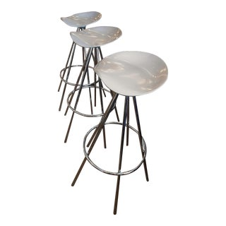 Mod Aluminum Bar Stools - Set of 3