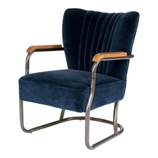 Sarreid Ltd Blue Laguna Arm Chair