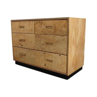 Henredon Burled Olive Small Dresser