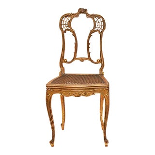19th Century Gilt French Chair