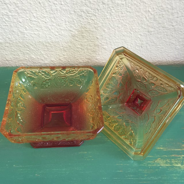 Image of Jeannette Glass Candy Dish