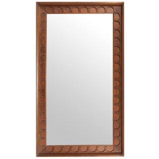 Walnut Framed Mirror by George Nelson/ Arthur Umanoff for Howard Miller