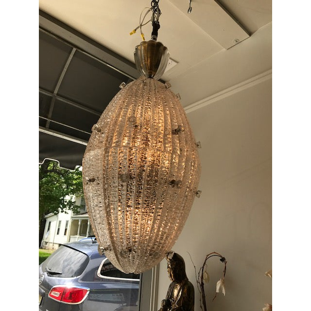 Carl Fagerlund for Orrefors Drop Pendant Chandelier - Image 6 of 6