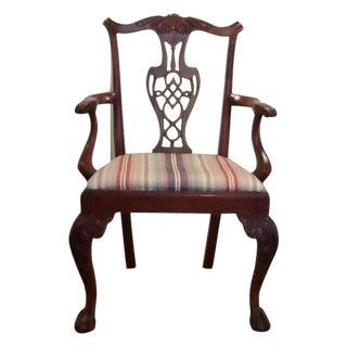 Chippendale Style Detailed Chair