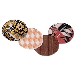 Mickalene Thomas Patterned Trays - Set of Four