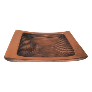 Ben Seibel Rectangular Copper Dish