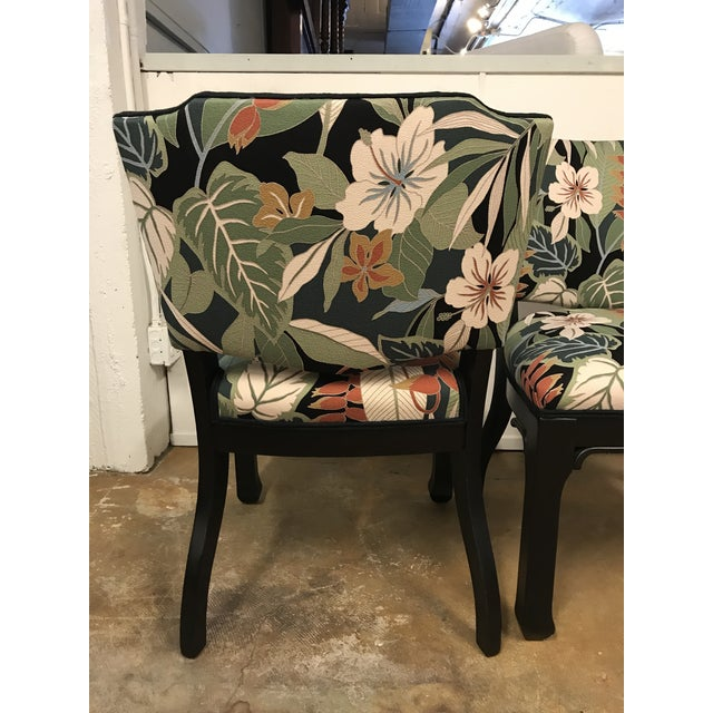 Image of James Mont Inspired Side Chairs - A Pair