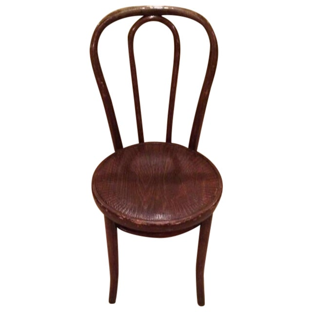 Vintage Thonet Bentwood Cafe Chair - Image 1 of 8