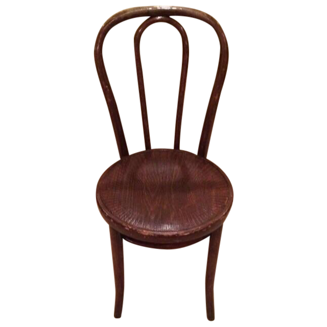 Vintage Thonet Bentwood Cafe Chair