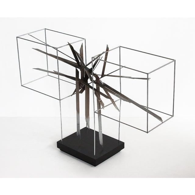 Curtis C Jere Chrome Burst Brutalist Sculpture - Image 7 of 10