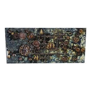 Mid-Century Helmut Friedrich Schäffenacker Ceramic Wall Plaque