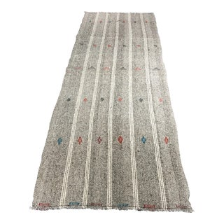 Bellwether Rugs Hemp Flat Weave Turkish Kilim Rug - 3'3x8'10""
