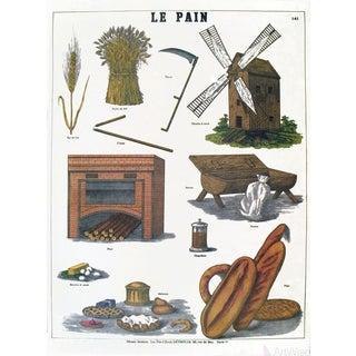 Emile Deyrolle Le Pain Lithograph
