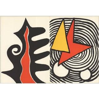 Alexander Calder 1973 Retour Au Mobile Lithograph