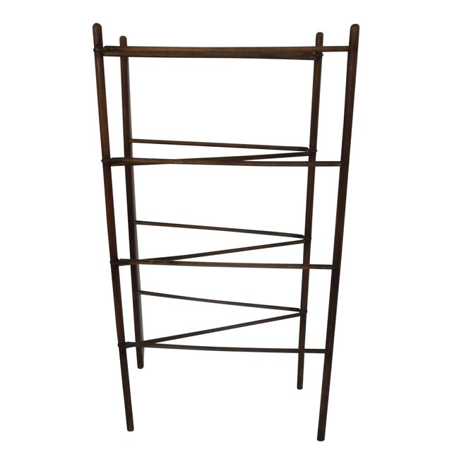 Antique Colonial Oak Drying Rack - Image 2 of 6